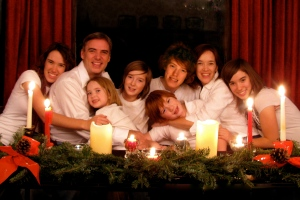 Eric Elder and Family, Christmas 2009