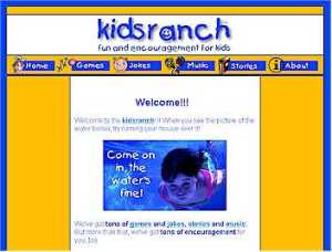The KidsRanch is now open at www.kidsranch.org