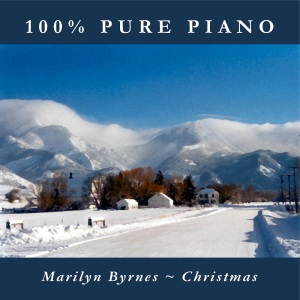 You're listening to CHRISTMAS, featuring 100% Pure Piano versions of inspirational holiday classics, performed by Marilyn Byrnes. Also available in CD and MP3 formats in our bookstore for a donation of any size!