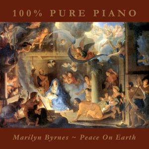 You're listening to PEACE ON EARTH, featuring 100% Pure Piano versions of your favorite Christmas hymns and classics, performed by Marilyn Byrnes. Also available in CD and MP3 formats in our bookstore for a donation of any size!