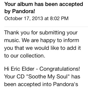 Pandora Email