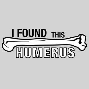 Cartoon: I found this humerus