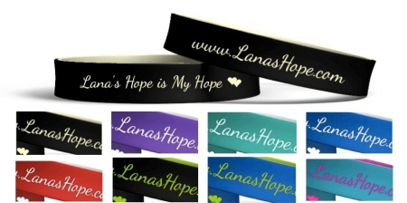 Lana's Hope Reminder Bands