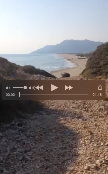 Click to play video of Patara Coastline