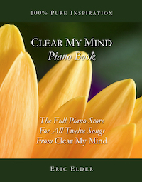 Clear My Mind Piano Book